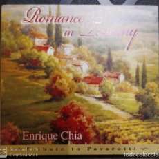 CDs de Música: ENRIQUE CHIA (ROMANCE IN TUSCANY - TRIBUTE TO PAVAROTTI) CD 2008 USA. Lote 254554695