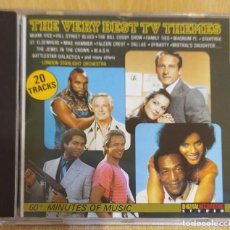 CDs de Música: LONDON STARLIGHT ORCHESTRA (THE VERY BEST TV THEMES) CD 1987. Lote 254555155