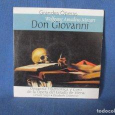 CDs de Música: CD - GRANDES ÓPERAS - WOLFGANG AMADEUS MOZART - DON GIOVANNI. Lote 254555365