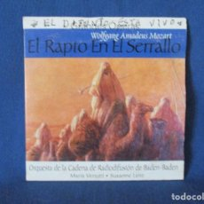 CDs de Música: CD - GRANDES ÓPERAS - WOLFGANG AMADEUS MOZART - EL RAPTO EN EL SERRALLO. Lote 254555690