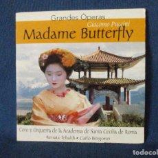 CDs de Música: CD - GRANDES ÓPERAS - GIACOMO PUCCINI - MADAME BUTTERFLY. Lote 254561590