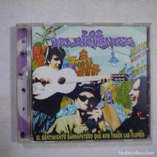 CDs de Música: LOS DELINQUENTES - EL SENTIMIENTO GARRAPATERO QUE NOS TRAEN LAS FLORES - CD 2001. Lote 254564295