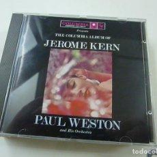 CDs de Música: JEROME KERN - PAUL WESTON & HIS ORCH - CD - C 6. Lote 254596120