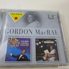CDs de Música: GORDON MACRAE – THE BEST THINGS IN LIFE ARE FREE / MOTION PICTURE SOUNDSTAGE - CD - C 6. Lote 254598990
