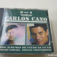 CDs de Música: CARLOS CANO CD 2 EN 1 QUÉDATE CON LA COPLA / RIRMO DE VIDA - CD - C 6.. Lote 254599685