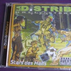CDs de Música: LA DISTRIB HALL STARZ – STARS DES HALLS VOLUME 1 - CD LA DISTRIB' PRODUCTION 2000 - HIP HOP FRANCIA. Lote 254601615