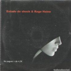 CDs de Música: ESTADO DE SHOCK & RAGE HAINE. Lote 254607635
