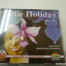 CDs de Música: BILLIE HOLIDAY - 1942 - 1957 - 3 CDS - C 6. Lote 254610345