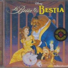 CDs de Música: LA BELLA Y LA BESTIA CD BANDA SONORA ORIGINAL EN ESPAÑOL 2006 WALT DISNEY. Lote 254641190