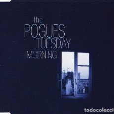 CDs de Música: THE POGUES WITH JOE STRUMMER -TUESDAY MORNING /LONDON CALLING /I FOUGHT THE LAW CD-EP PUNK CLASH. Lote 254651460