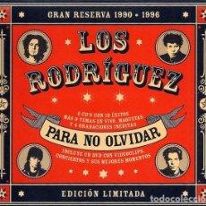 CDs de Música: LOS RODRIGUEZ -PARA NO OLVIDAR -DOBLE CD + DVD DIGIPACK EDICION LIMITADA -CLASICOS, DEMOS, DIRECTOS. Lote 254663280
