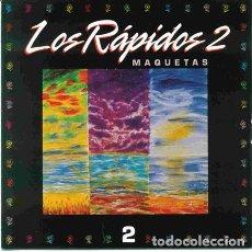 CDs de Música: LOS RÁPIDOS - 2 - MAQUETAS CD 1995 PRIMERA EDICION PERRO RECORDS EL ULTIMO DE LA FILA. Lote 254663880