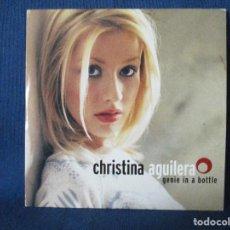 CDs de Música: CD - CHRISTINA AGUILERA - GENIE IN A BOTTLE / 2 TEMAS. Lote 254689745