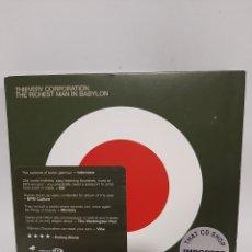 CDs de Música: CD5770 THIEVERY CORPORATION THE RICHEST MAN IN BABYLON CD SEGUNDA MANO. Lote 254690115