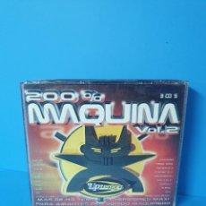 CDs de Música: CD 200% MAQUINA VOL.2. Lote 254691035