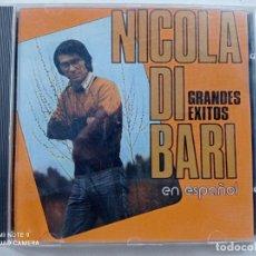 CDs de Música: NICOLA DI BARI - GRANDES EXITOS EN ESPAÑOL - CD RCA ESPAÑA 1989. Lote 254691275