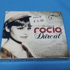 CDs de Música: 2 CD'S ROCÍO DÚRCAL - POR SIEMPRE ROCÍO. Lote 254693510