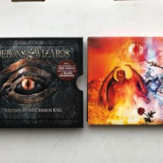 CDs de Música: DEMONS & WIZARDS TOUCHED BY THE CRIMSON KING 2005 2 CDS - CD MUSICA HEAVY KREATEN. Lote 254702450
