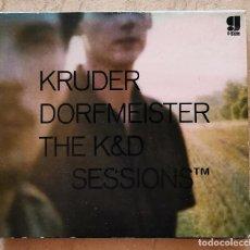 CD di Musica: KRUDER DORFMEISTER – THE K&D SESSIONS 2CD, MIXED,DIGIPAK, DOWNTEMPO, DUB, TRIP HOP. Lote 254712585