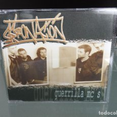 CDs de Música: CD SINGLE GERONACION - GUERRILLA MC'S / 1ª EDICIÓN AVOID RECORDS 1997 / RAP HIP HOP ESPAÑOL / RARO!!. Lote 254746915