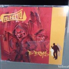 CDs de Música: CD EP N-FECTO / B BOYS / NFECTO / 1ª EDICIÓN TU PIERDES RECORDS 1999 / RAP HIP HOP ELECTRO ESPAÑOL. Lote 254749515