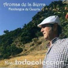 CDs de Música: MIGUEL ANGEL TEJERO - AROMAS DE LA SIERRA. FANDANGOS DE CACERÍA. Lote 254749955
