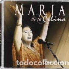 CDs de Música: MARÍA DE LA COLINA - POR TI SERÉ. Lote 254751080