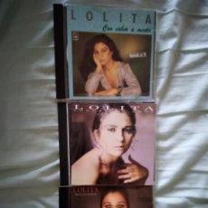 CDs de Música: LOLITA CDS MADRUGADA ,CON SABOR A MENTA ,Y LOCURA DE AMOR. Lote 254754335