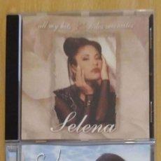 CDs de Música: SELENA (ALL MY HITS - TODOS MIS EXITOS VOL. 1 Y VOL. 2) 2 CD'S 1999/00. Lote 254770545