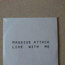 CDs de Música: MASSIVE ATTACK - LIVE WITH ME. Lote 254772925