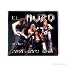 CDs de Música: MURO - GRANDES Y DIRECTOS 1985-1989. Lote 254779660