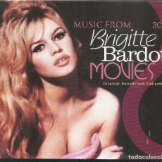 CDs de Música: BRIGITTE BARDOT - MOVIES (CAJA CON 3 CD'S, GOLDEN STARS 2008). Lote 254800420