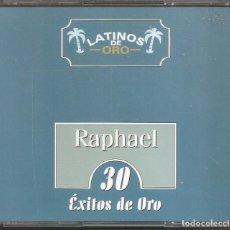 CDs de Música: RAPHAEL - 30 EXITOS DE ORO (CAJA CON 2 CD'S, NOVOSON MUSIC 2000). Lote 254803515