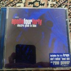 CDs de Música: APOLLOFOURFORTY - ELECTRO GLIDE IN BLUE (CD, ALBUM) (STEALTH SONIC RECORDINGS). Lote 254805395