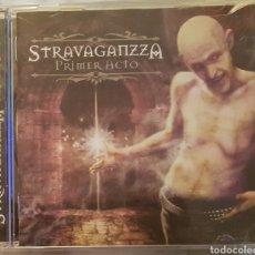 CDs de Música: CD STRAVAGANZZA - PRIMER ACTO. HEAVY METAL. LEO JIMENEZ (SARATOGA). Lote 254810605
