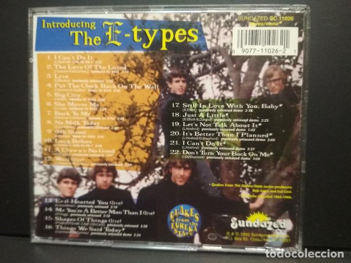 CDs de Música: THE E-TYPES INTRODUCING…….E-TYPES CD USA1995 Pepeto Top - Foto 2 - 254818505