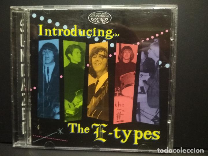 THE E-TYPES INTRODUCING…….E-TYPES CD USA1995 PEPETO TOP (Música - CD's Rock)
