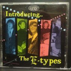 CDs de Música: THE E-TYPES INTRODUCING…….E-TYPES CD USA1995 PEPETO TOP. Lote 254818505