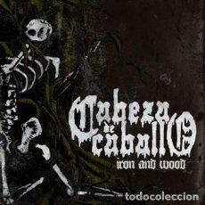 CDs de Música: CABEZA DE CABALLO - IRON AND WOOD (HEAVY METAL DOOM STONER SLUDGE). Lote 254821255