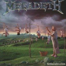 CDs de Música: MEGADETH - YOUTHANASIA. Lote 254821555