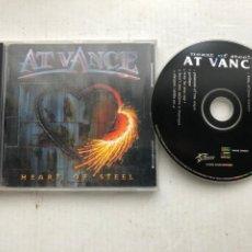 CDs de Música: AT VANCE HEART OF STEEL 2000 - CD MUSICA HEAVY KREATEN. Lote 254824070