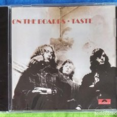 CDs de Música: TASTE - ON THE BOARDS CD NUEVO Y PRECINTADO - BLUES ROCK. Lote 254837475