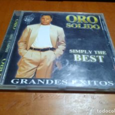 CDs de Música: ORO SÓLIDO. SIMPLY THE BEST. GRANDES ÉXITOS. CD EN BUEN ESTADO CON 14 TEMAS.. Lote 254841150