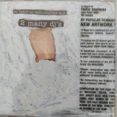 CDs de Música: 2 MANY DJ'S - AS HEARD ON RADIO SOULWAX PT.2 (CD, COMP, MIXED) ([PIAS] RECORDINGS. Lote 254870460