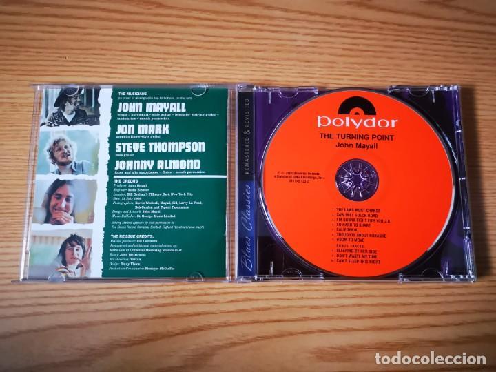 CDs de Música: CD DE JOHN MAYALL - THE TURNING POINT - COMO NUEVO | UNIVERSAL RECORDS | - Foto 2 - 254907795