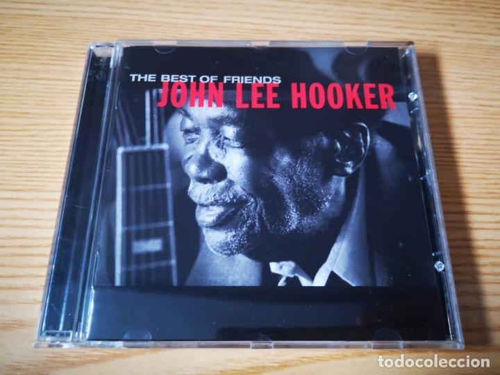 CD DE JOHN LEE HOOKER - THE BEST OF FRIENDS - COMO NUEVO | VIRGIN RECORDS | (Música - CD's Rock)