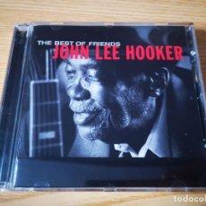 CDs de Música: CD DE JOHN LEE HOOKER - THE BEST OF FRIENDS - COMO NUEVO | VIRGIN RECORDS |. Lote 254914610