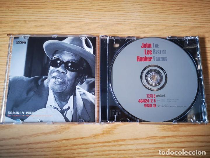 CDs de Música: CD DE JOHN LEE HOOKER - THE BEST OF FRIENDS - COMO NUEVO | VIRGIN RECORDS | - Foto 2 - 254914610