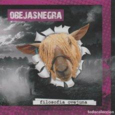 CDs de Música: OBEJAS NEGRA - FILOSOFÍA OVEJUNA (PUNK; MANOLO KABEZABOLO). Lote 254915590