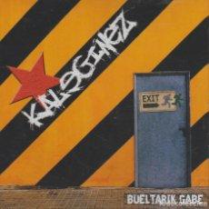 CDs de Música: KALEGINEZ - BUELTARIK GABE. Lote 254916670